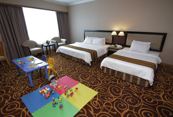 Megahotel Miri - Room Type - Family Deluxe